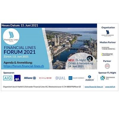 Financial Lines Forum 2020 in Zürich – Medienpartnerschaft für Österreich wird verschoben auf Frühjahr / Sommer 2022