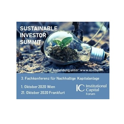 3. Sustainable Investor Summit verschoben auf JUNI 2021